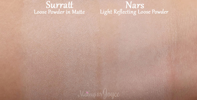 Surratt Beauty Diaphane Loose Powder Cartridge in Matte Swatch