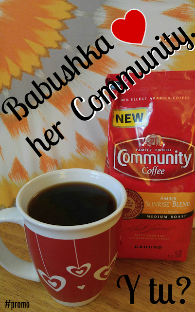 community coffee amber sunrise