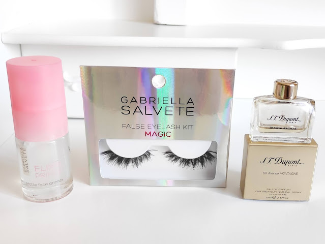 Podkladová báze, umělé řasy, parfém Gabriella Salvete