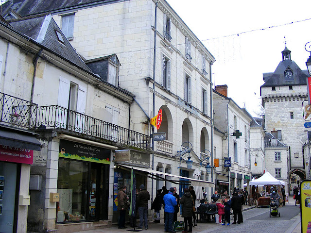 Hotel de France, Loches, Indre et Loire, France. Photo by Loire Valley Time Travel.