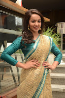 Tejaswi Madivada looks super cute in Saree at V care fund raising event COLORS ~  Exclusive 109.JPG