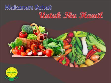 Makanan Sehat Untuk Ibu Hamil yang Sehat dan Bergizi
