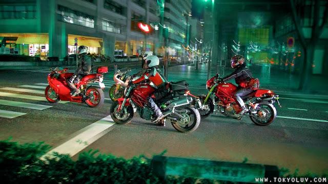 Tokyo Ducati Night Run