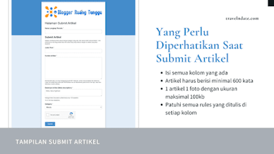 cara submit artikel di BRT Network