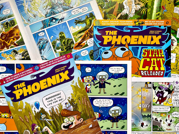 Review: The Phoenix, A Weekly Comic For Children