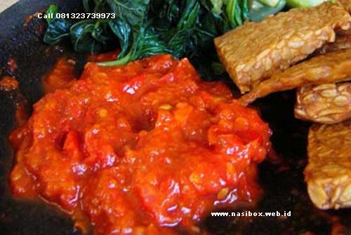 Resep sambal tomat ala nasi box walini ciwidey