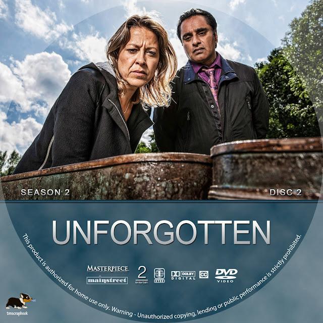 Unforgotten Season 2 Disc 2 DVD Label