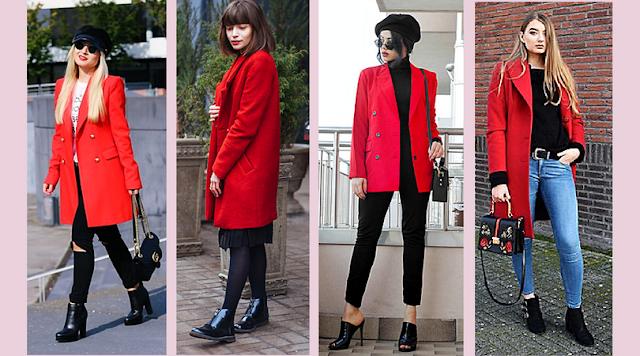 Trend Alert: Looks Com Vermelho - a imagem mostra mulheres vestindo peças de roupa na cor vermelha