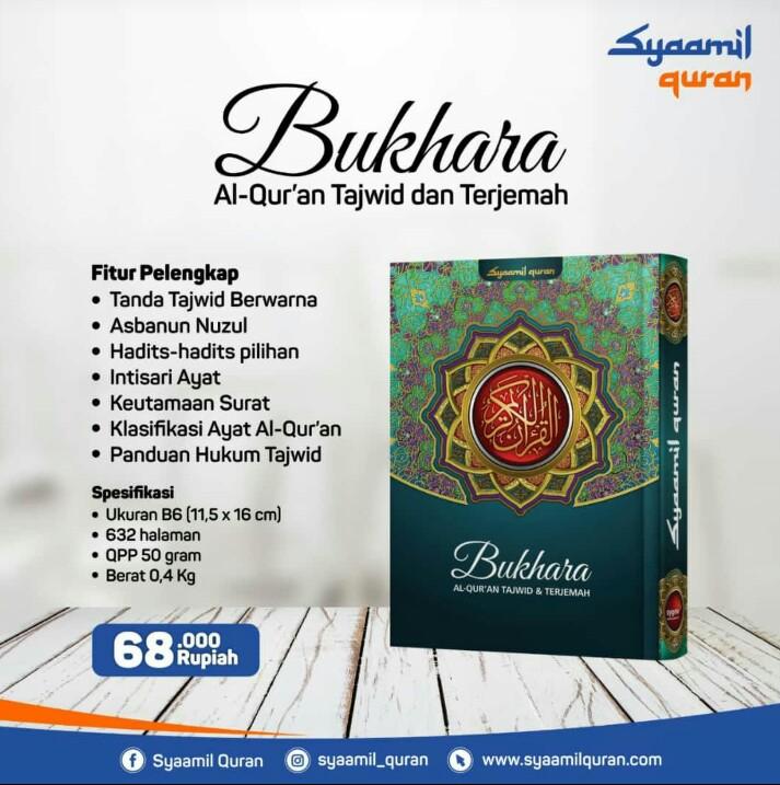 Jual Al-Qur'an Syamil Bukhara Tajwid Dan Terjemah B6