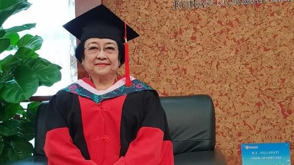 Deretan Gelar Akademik Kehormatan Megawati yang Hari Ini Jadi Profesor