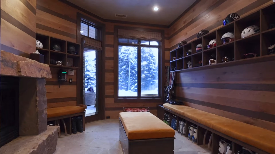 36 Interior Design Photos vs. 615 Forest Place, Vail, CO Ultra Luxury Modern Rustic Mansion Tour