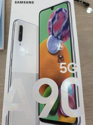 Samsung Galaxy A90 5G Retail box, Specs, Release Date, Price