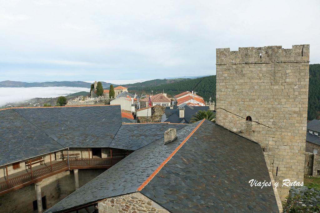 Vistas desde el Castillo de Castro Caldelas
