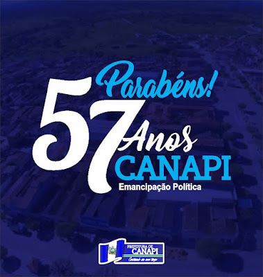 Canapi/AL completa 57 anos de Emancipação Política nesta quinta-feira, 22