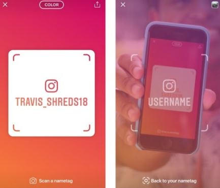 Instagram New Update : How to Use Instagram NameTag Update
