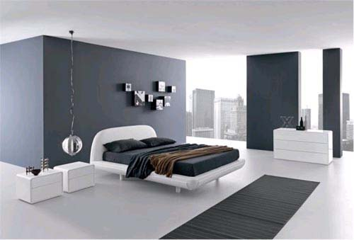Black White Bedroom Furniture: Decorating Inspiration: Black & White Room Design