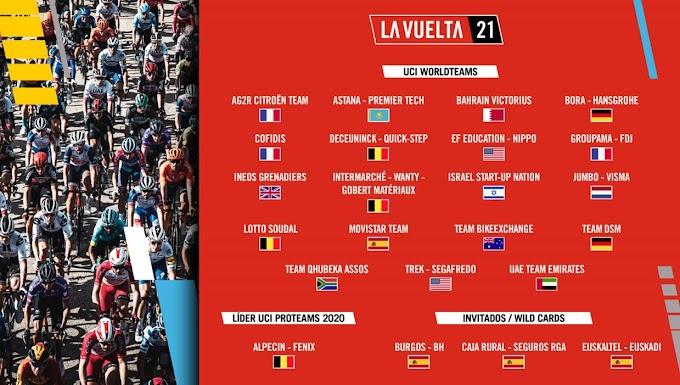 Euskaltel – Euskadi, Burgos - BH y Caja Rural - Seguros serán los equipos invitados a la Vuelta a España 2021