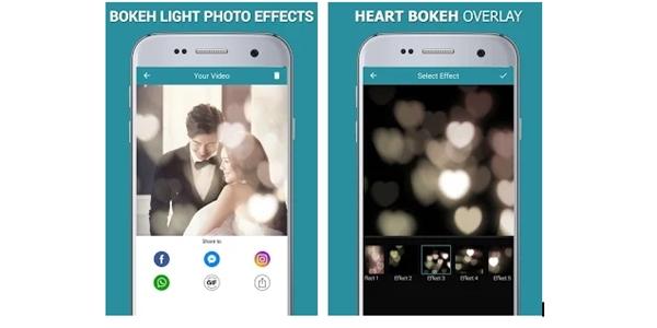 Aplikasi Bokeh Light Effect
