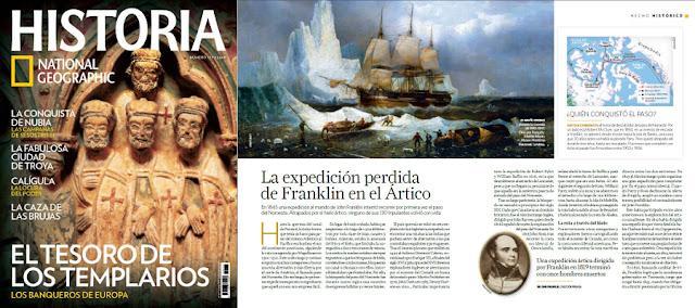 La expedición perdida de Franklin en el Ártico