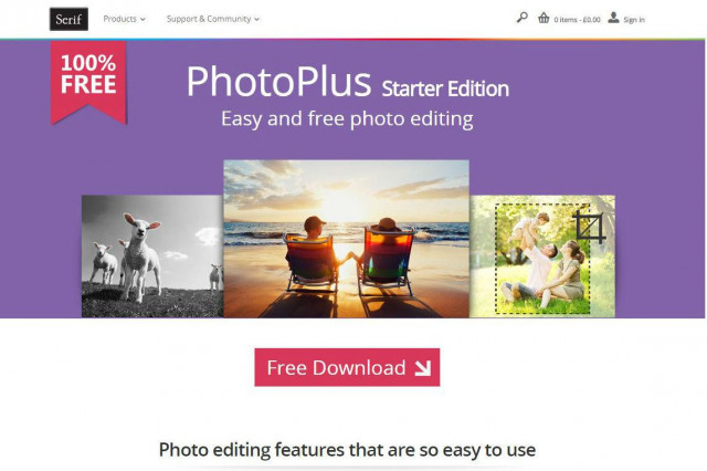 Serif PhotoPlus Starter Edition