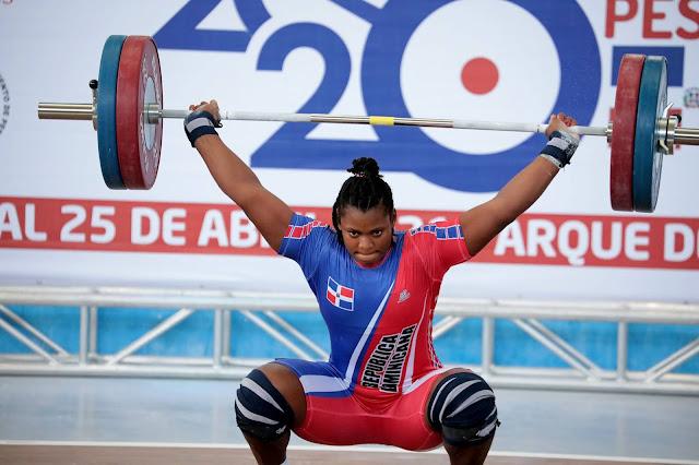 RD clasifica cinco pesista ; delegación dominicana suma 38 atletas clasificados  JJOO Tokio