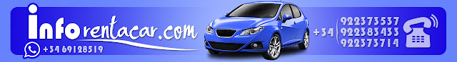 Tenerife Rent a Car Alquiler coches tenerife banner