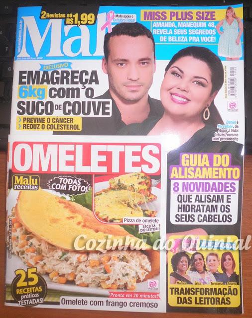 Paula Mello na Revista Malu