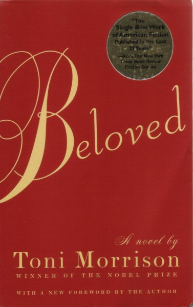 Beloved by Toni Morrison – book cover