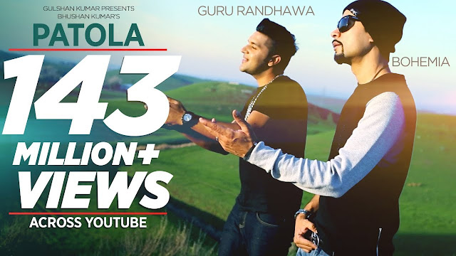 Patola Lyrics in english (Full Song) guru randhawa new song