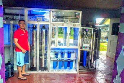 Depot Air Minum Lampung 3 in 1 Rp  50 Jt