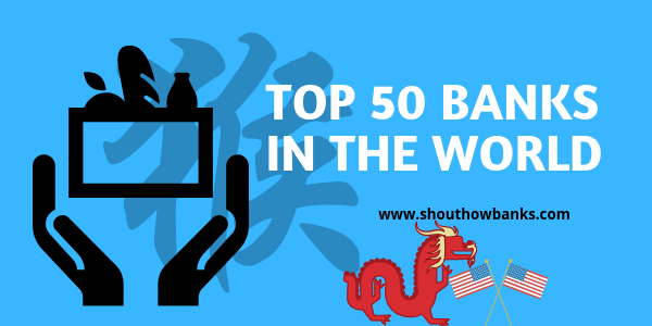 top 50 banks in the world