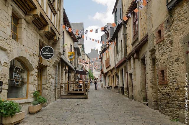 Vitré viaje Bretaña Normandia turismo pueblos bonitos
