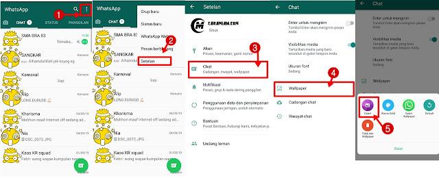 Cara Ubah Tema Whatsapp Menjadi Lucu Nan Keren Dengan