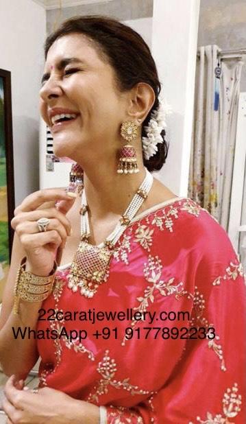 Lakshmi Prasanna Pearl Necklace