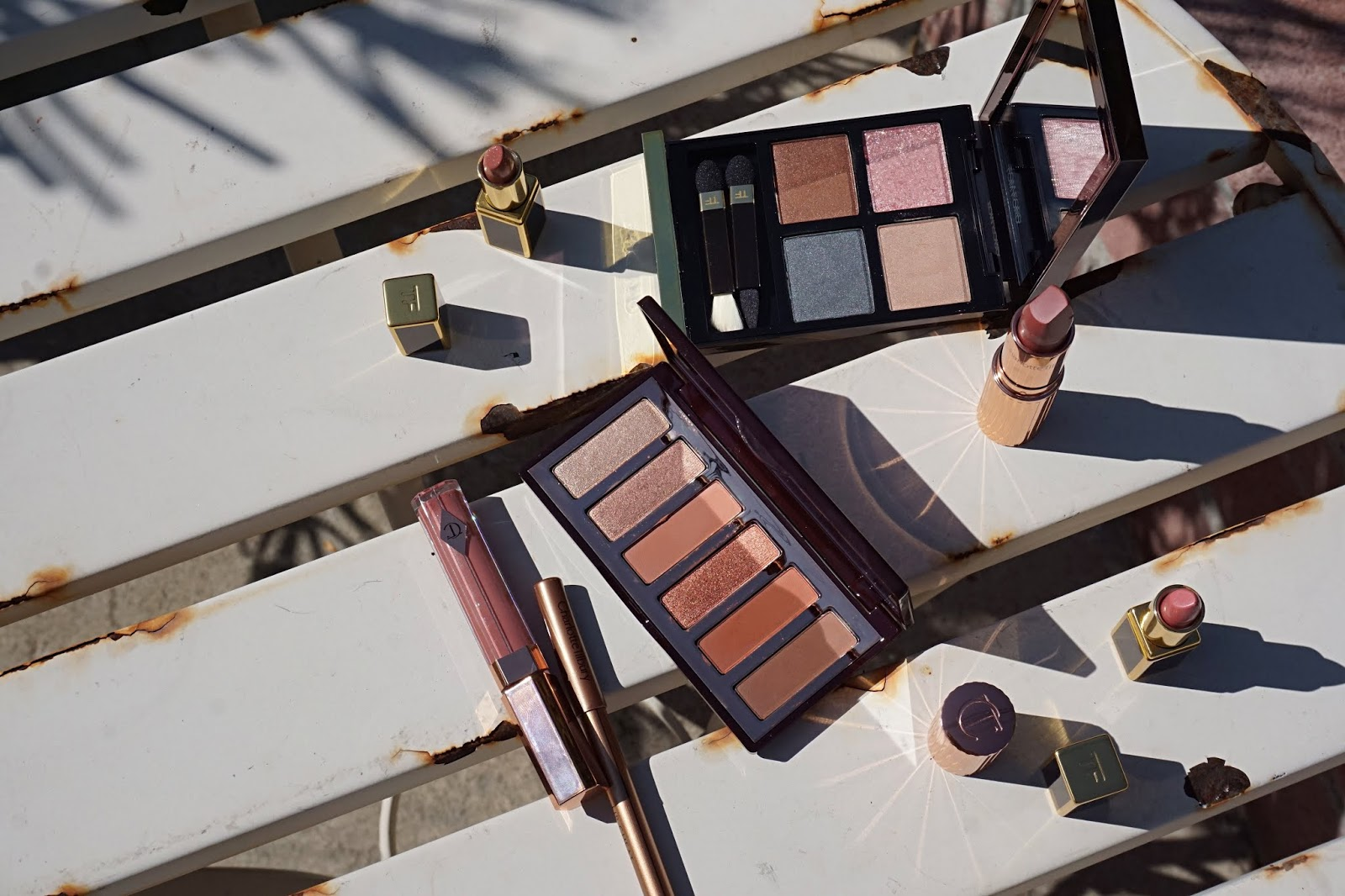Charlotte Tilbury easy smoky eye palette swatches