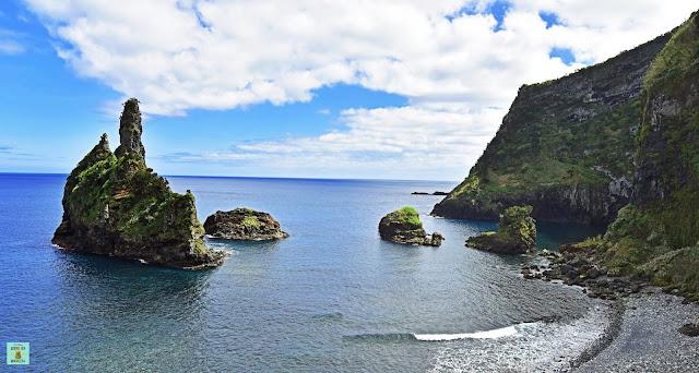 Bahía de Alagoa, isla de Flores (Azores)