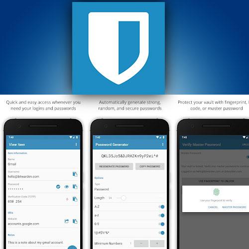 تنزيل تطبيق حفظ كلمات المرور  Bitwarden Password Manager apk للأندرويد برابط مباشر 2021