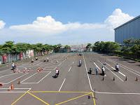 Gunakan Protokol Kesehatan, MPM Honda Jatim Adakan Pelatuhan Safety Riding Di MPM Safety Riding Centre
