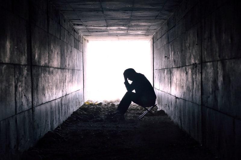 depression, hurting, sad
