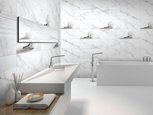 White Bathroom Tiles