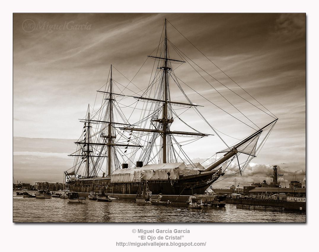 Velero en Portsmouth
