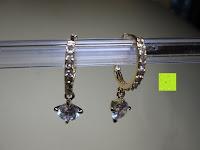 vorne: Fashmond Creolen Ohrschmuck aus Legierung Gemischte Metalle Für Jeden Anlass