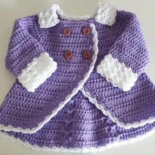 Abrigo Cruzado Crochet