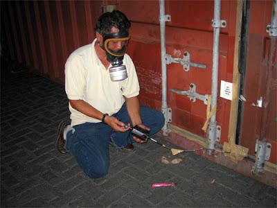 fumigar tuberias