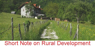 Short Note on Rural Development