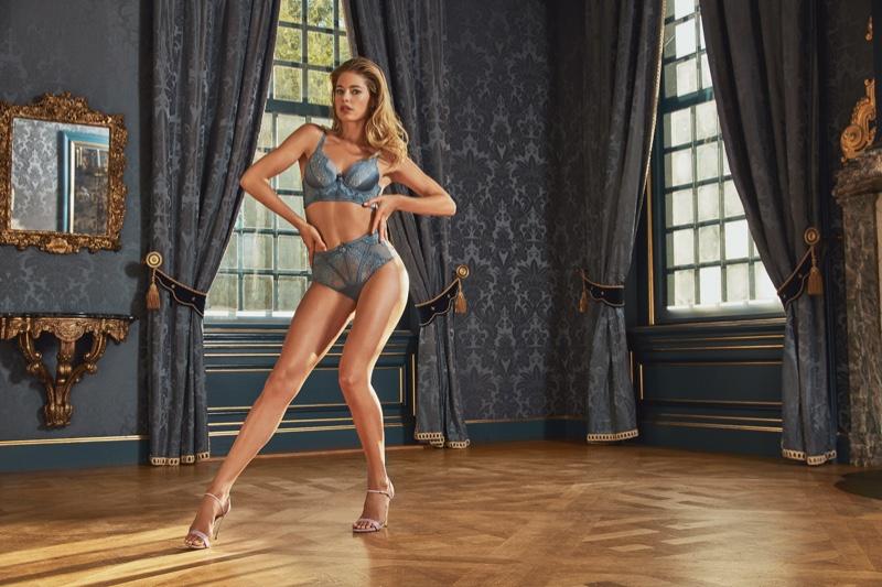 Doutzen Kroes for Hunkemoller Lingerie 2019 Campaign