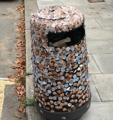 The Freud Museum Waste Bin
