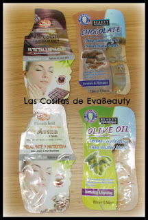 Mascarillas faciales terminadas Sys y Beauty Formulas #SyS #beautyformulas #mask #mascarillas #skincare #productosterminados #terminados #empties #skincare