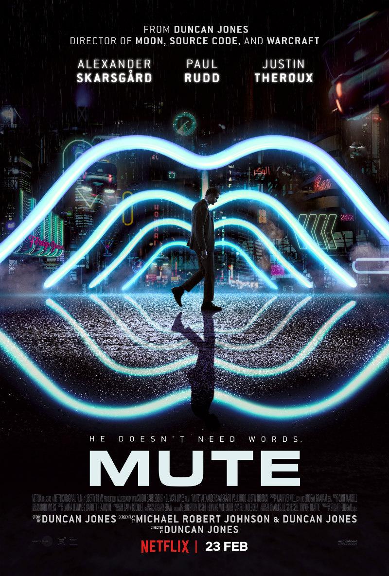 mute netflix poster