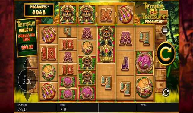 Ulasan Slot Blueprint Gaming Indonesia - Temple of Treasure Megaways Slot Online